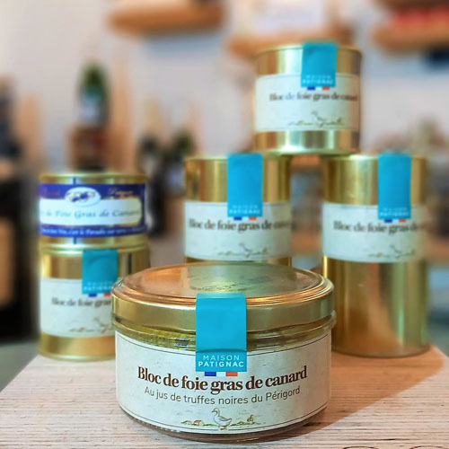 bloc foie canard truffe 90g