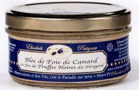 blocco di foie gras di anatra al tartufo