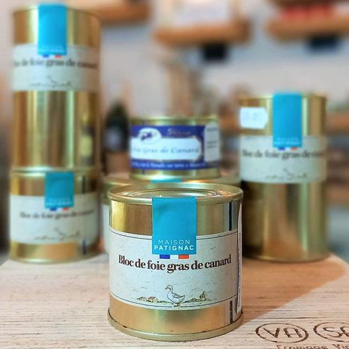 bloc foie canard 100g