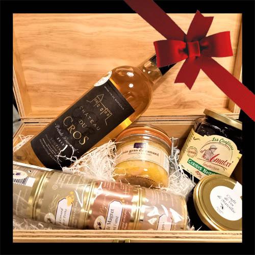 cestino regalo foie gras