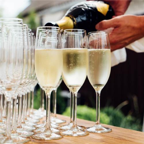 champagne suggerimento di presentazione 2