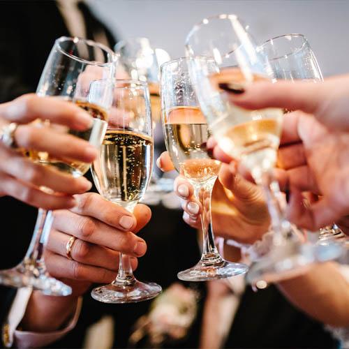 champagne suggerimento di presentazione 4