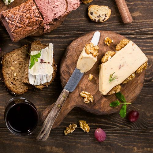 foie gras suggerimento di presentazione