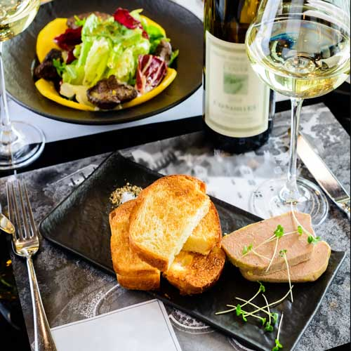 foie gras suggerimento di presentazione 4