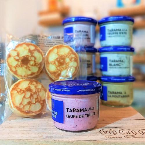 tarama uova di trota taramosalata
